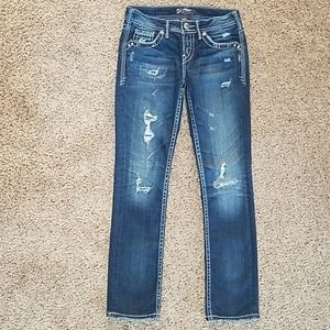 SILVER Aiko Baby Boot Jeans - 25 x 31